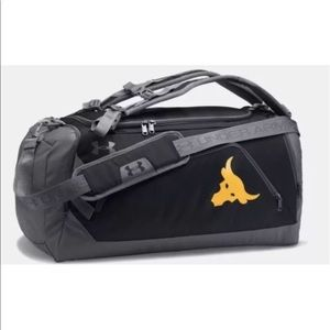 4983069b7fe Under Armour Bags - Project rock under armour duffle bag backpack firm